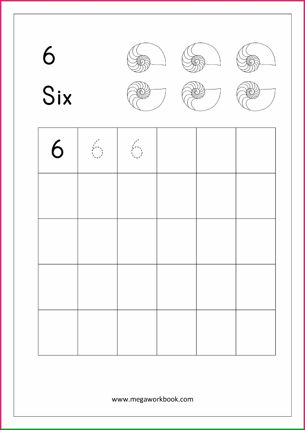 Number Tracing And Writing Worksheets