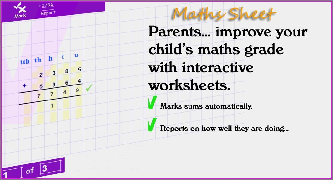 Numeracy Worksheet Generator Online