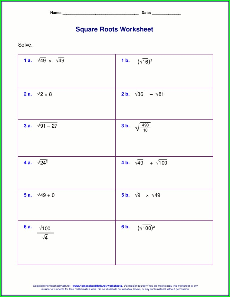 Order Of Operations Worksheet Homeschool Math
