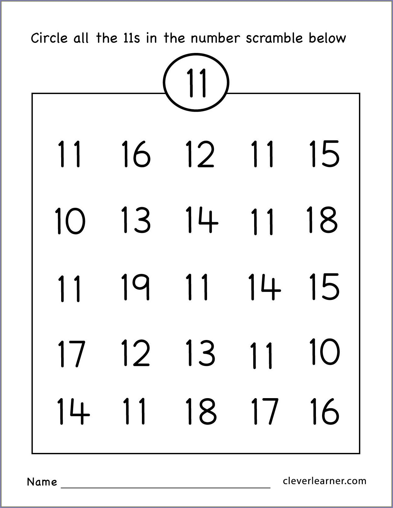 Ordinal Numbers Worksheet To 20