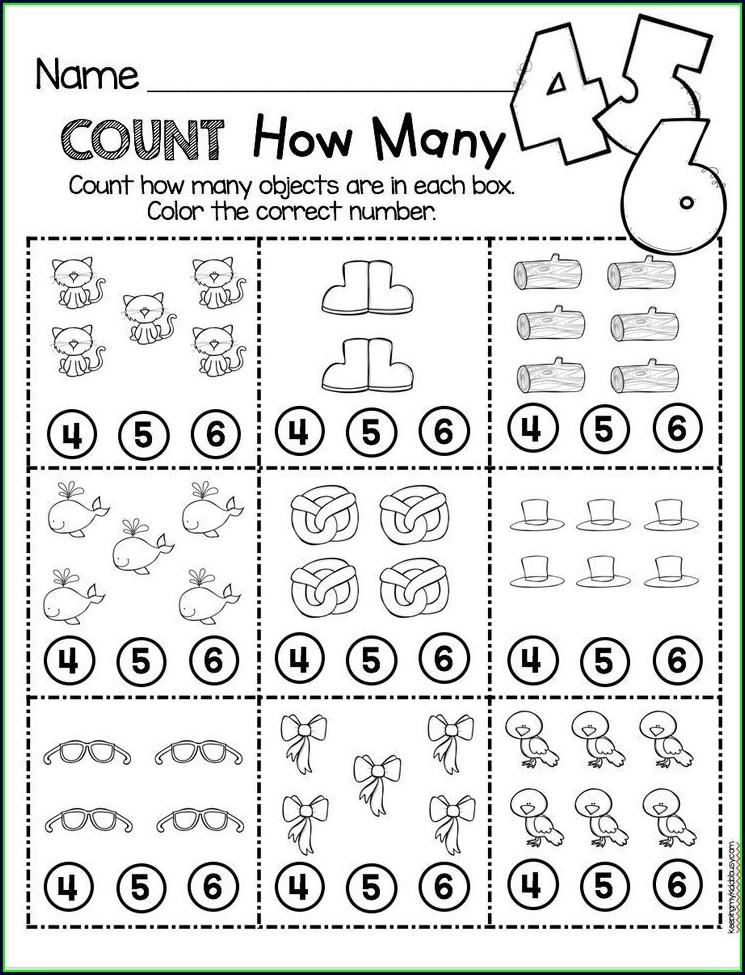 Pre School Math Worksheet For Preschoolers Free