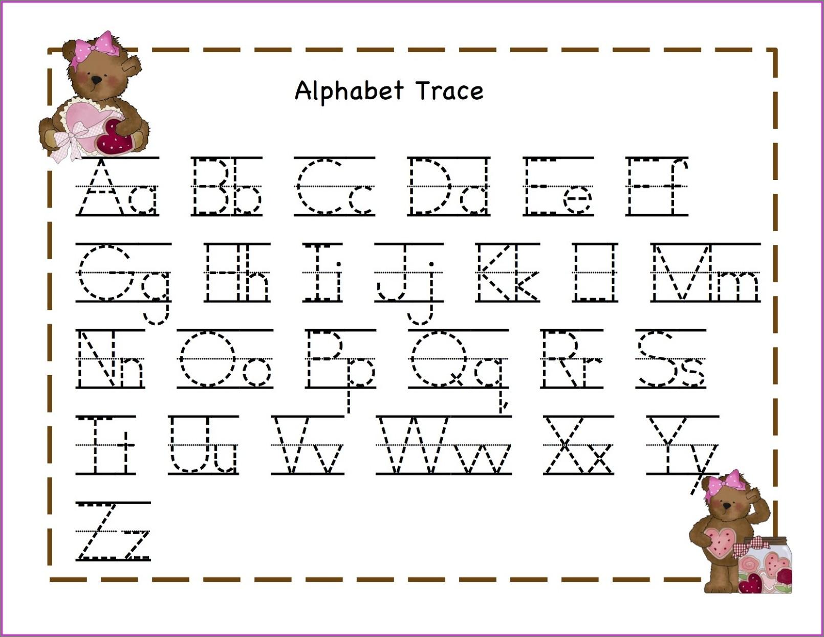 Preschool Worksheets 5 Year Olds