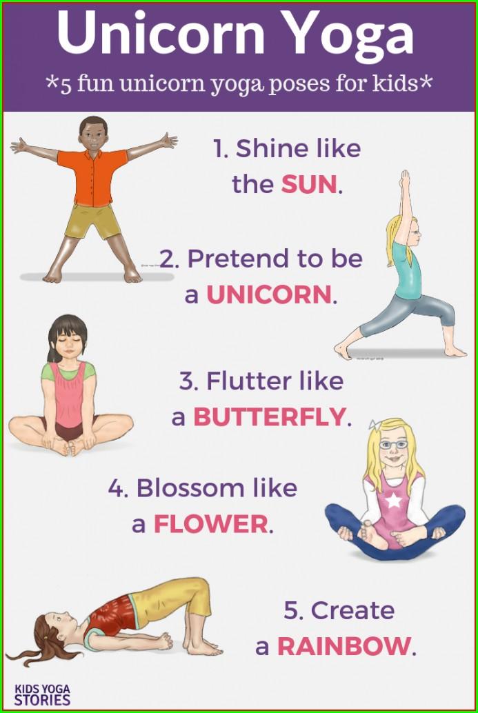 Preschool Yoga Poses For Kids Printable