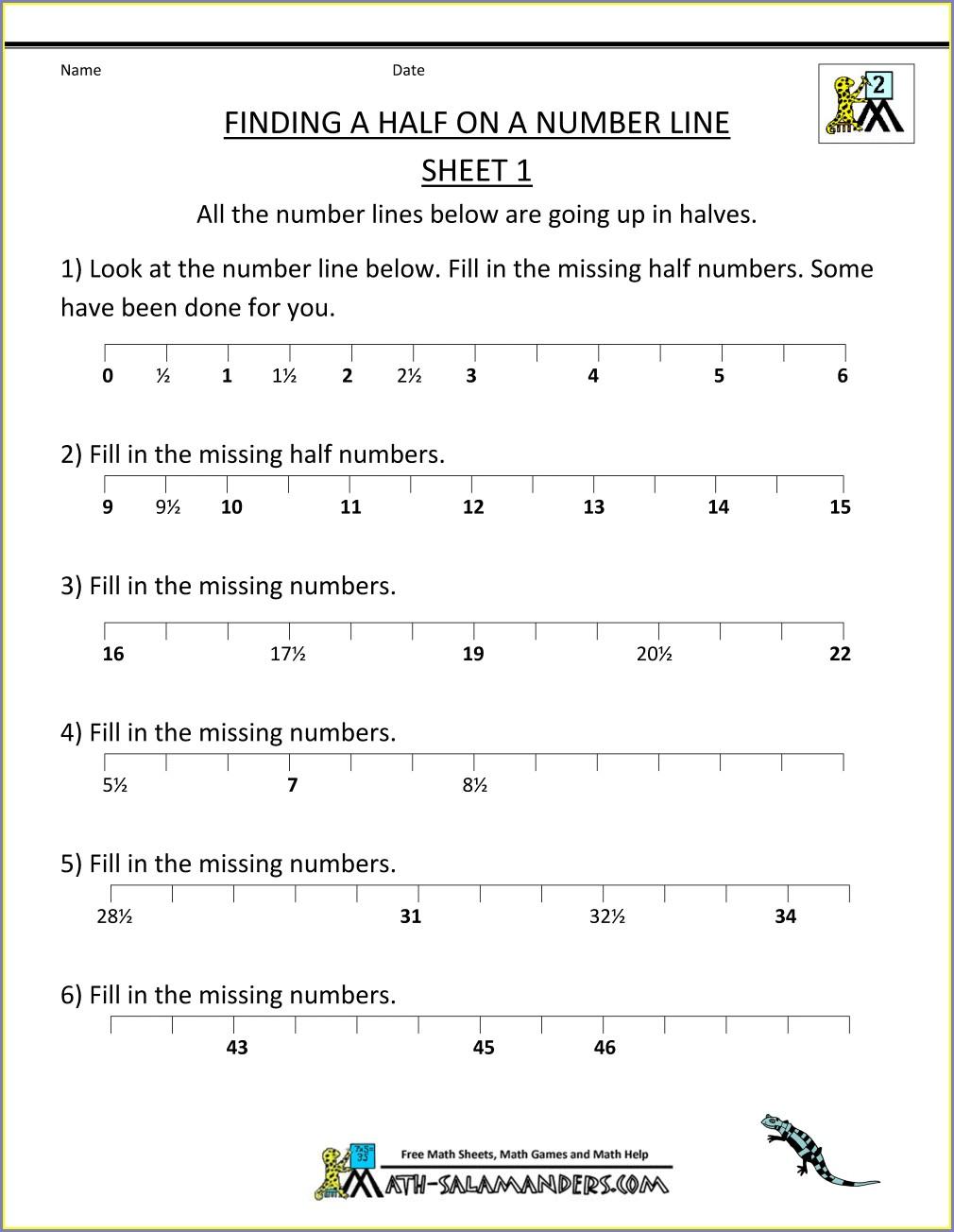 Printable 5th Grade Math Worksheets Division