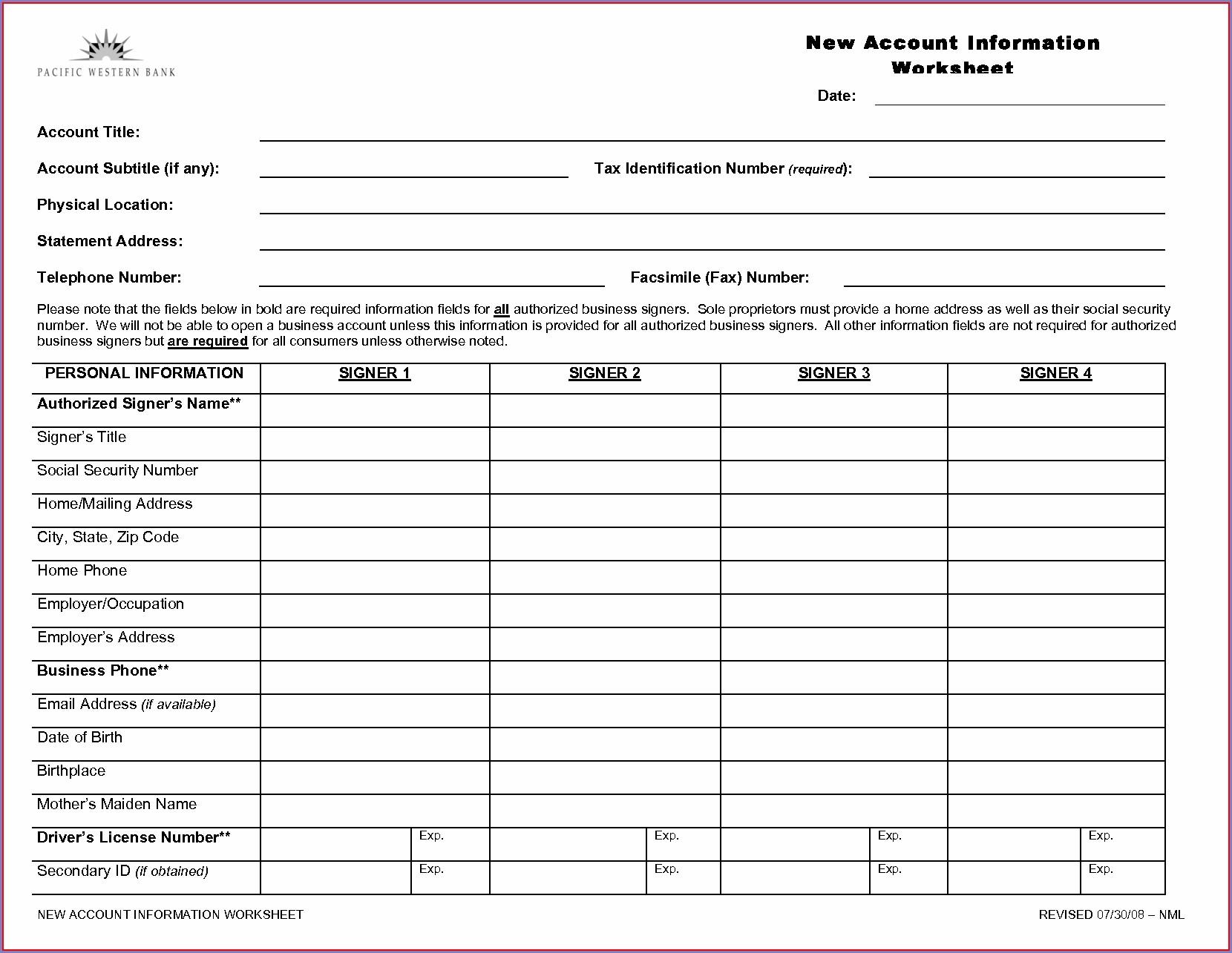 Printable Earned Income Credit Worksheet