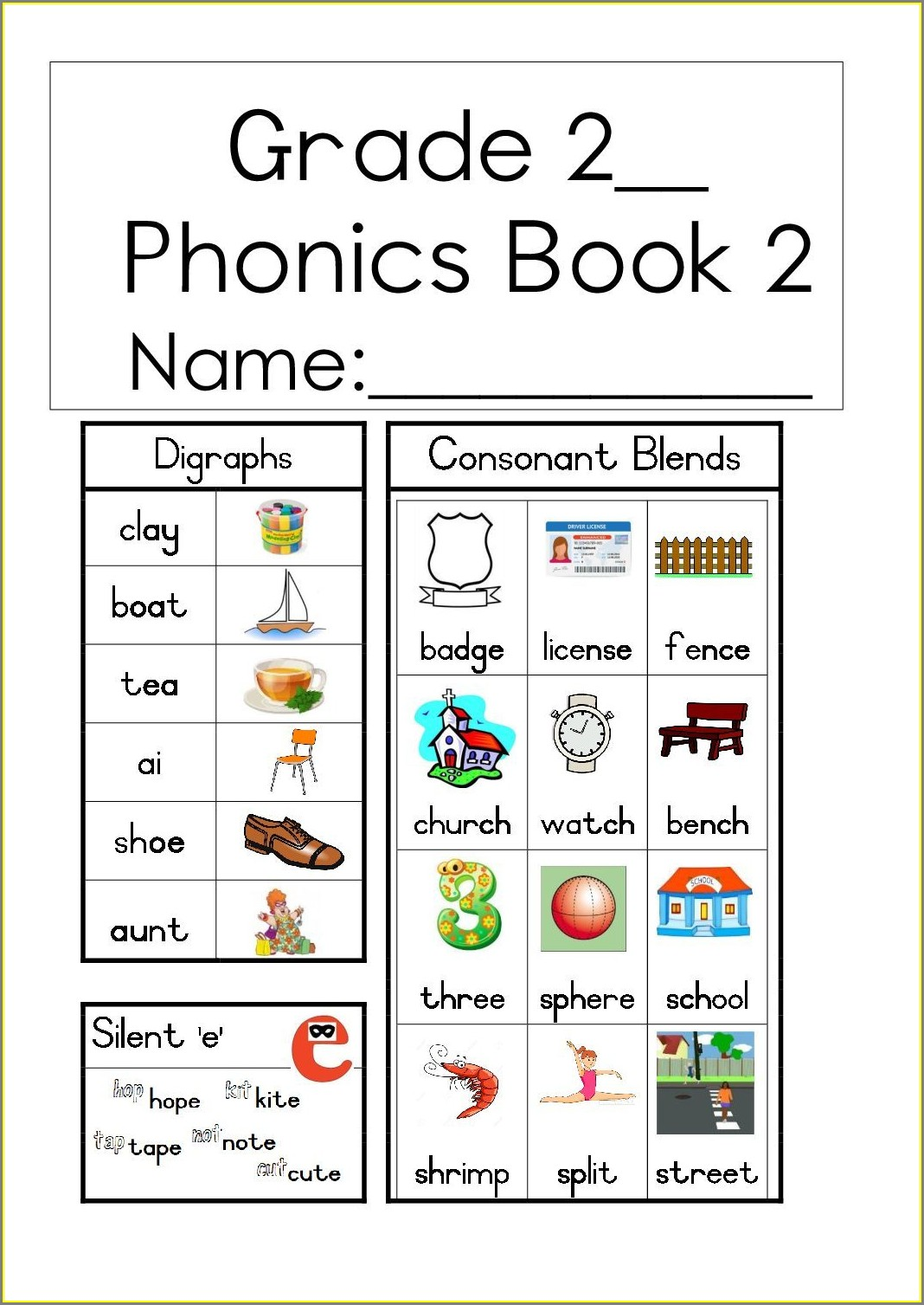 Printable Grade 2 Language Worksheets