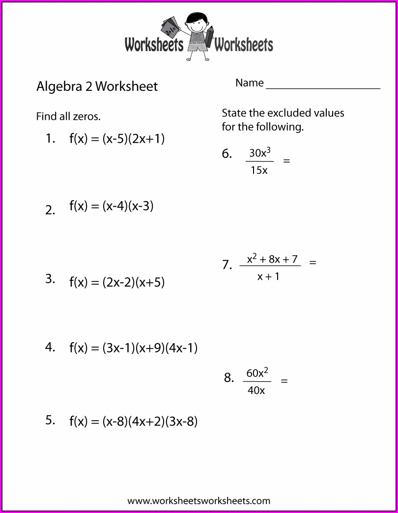 Printable Math Worksheet Grade 2