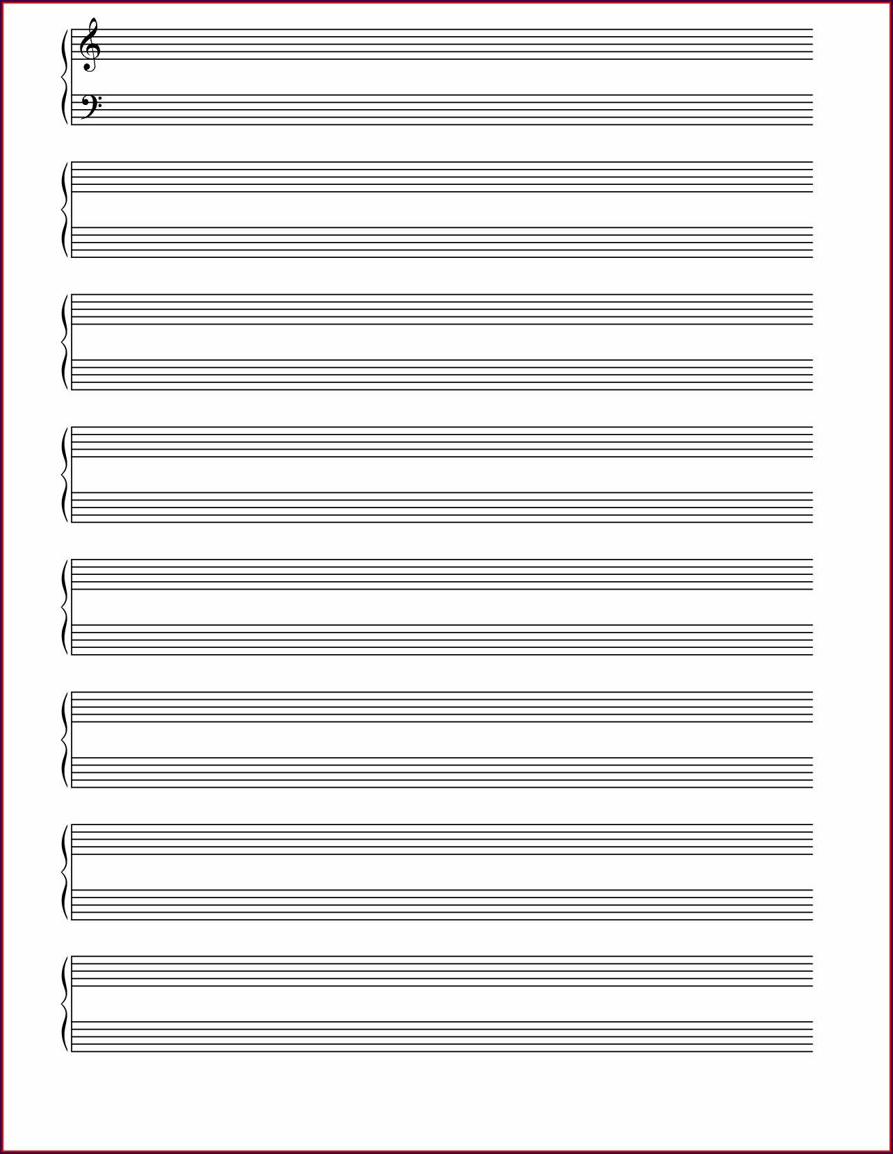 Printable Music History Worksheets