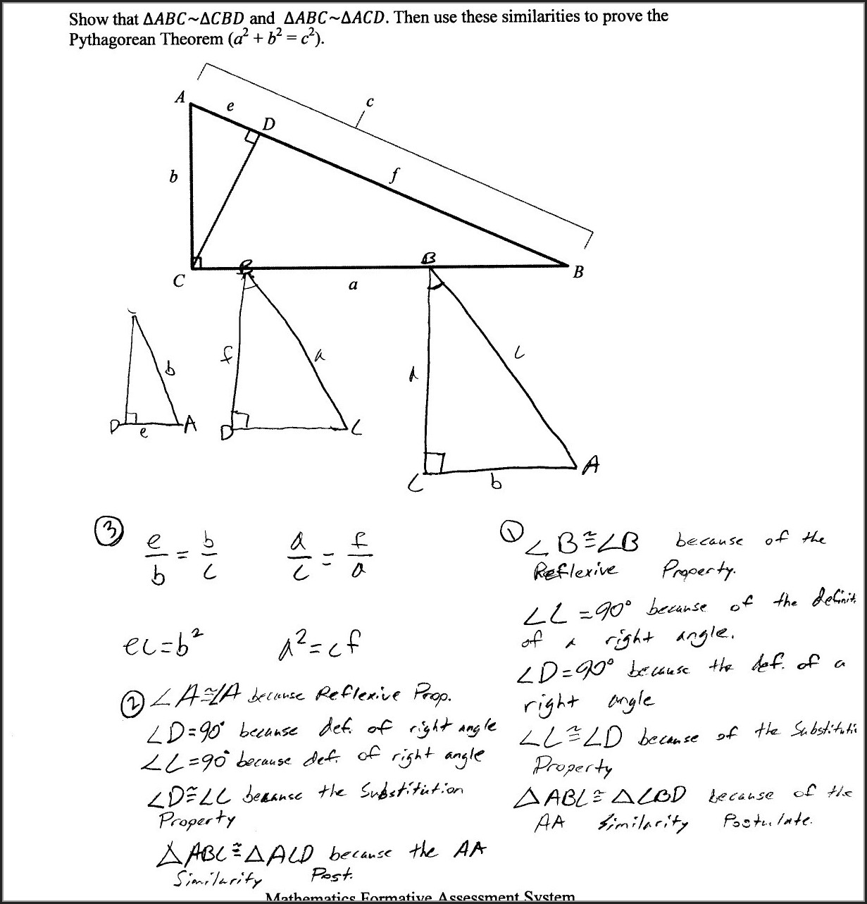 Pythagorean Theorem 8th Grade Math Worksheets