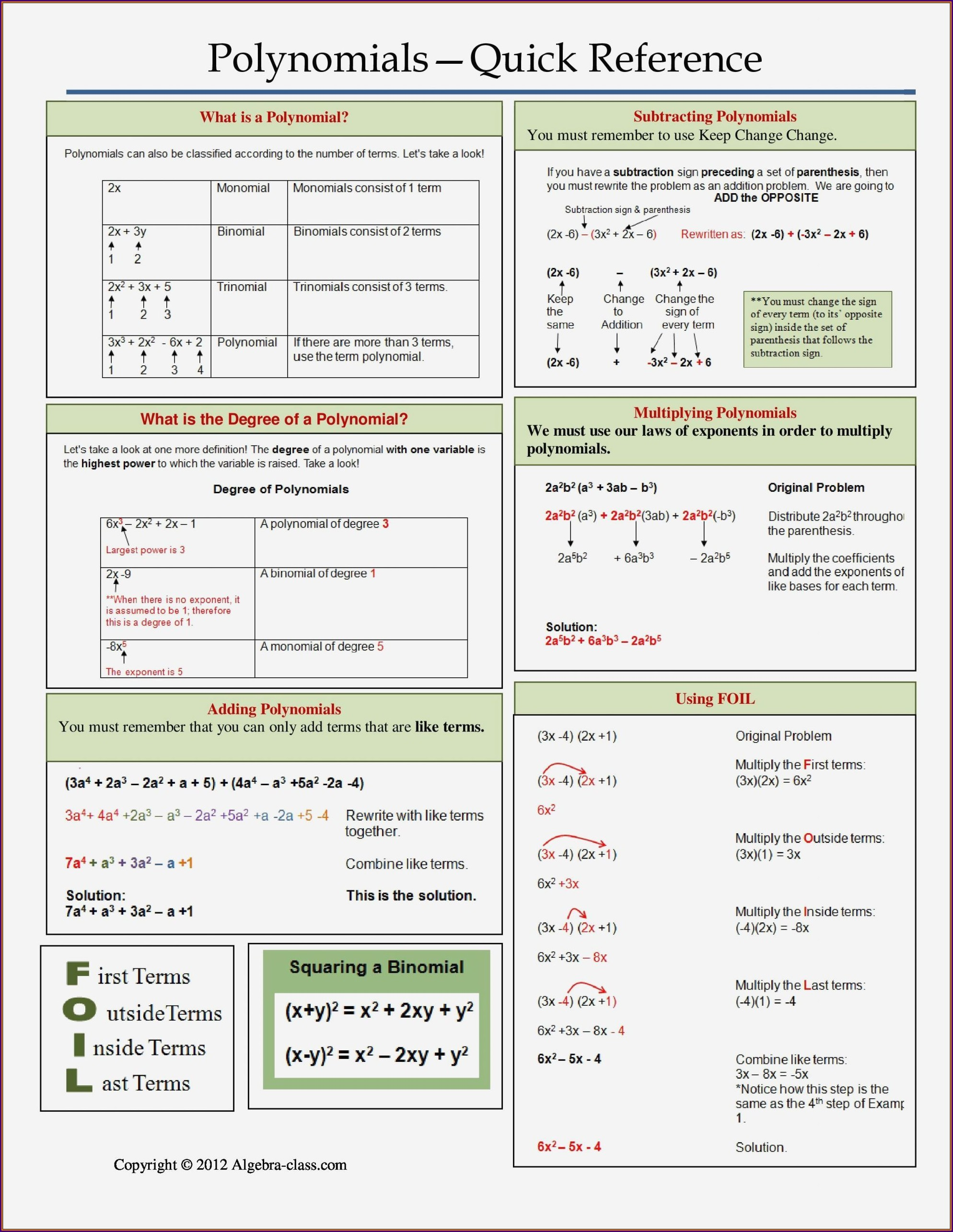 Rational Numbers Math Worksheet