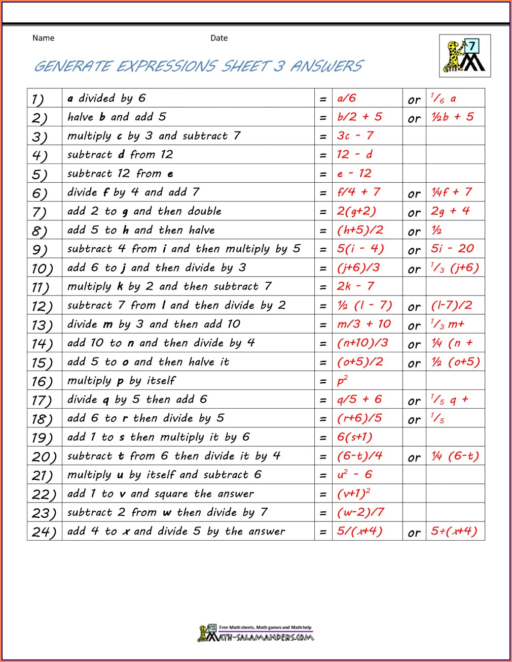 Rational Numbers Word Problems Worksheet Grade 7 Pdf With Answers
