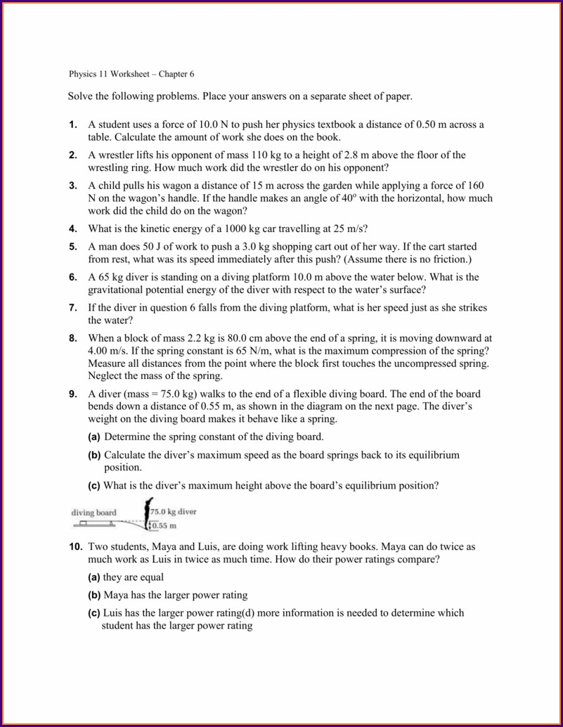 Reading A Credit Report Chapter 6 Worksheet Answers