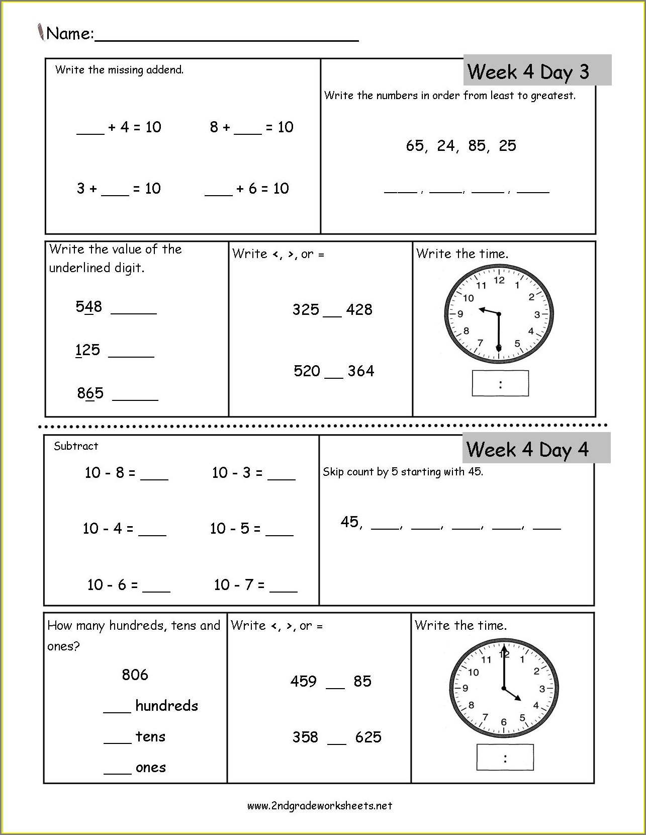 Reading A Map Worksheet Pdf 2nd Grade