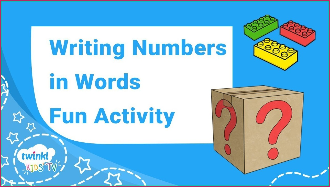 Reading And Writing Numbers To 100 Worksheet