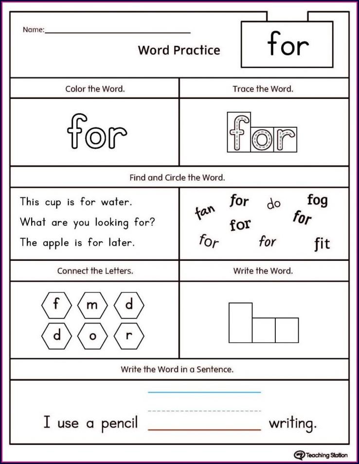 Reading Comprehension Passages For Kindergarten Pdf