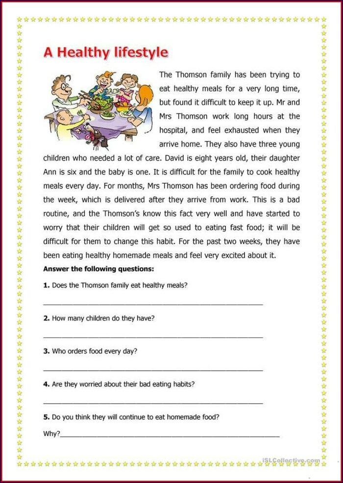 Reading Comprehension Worksheet 3rd Grade Pdf