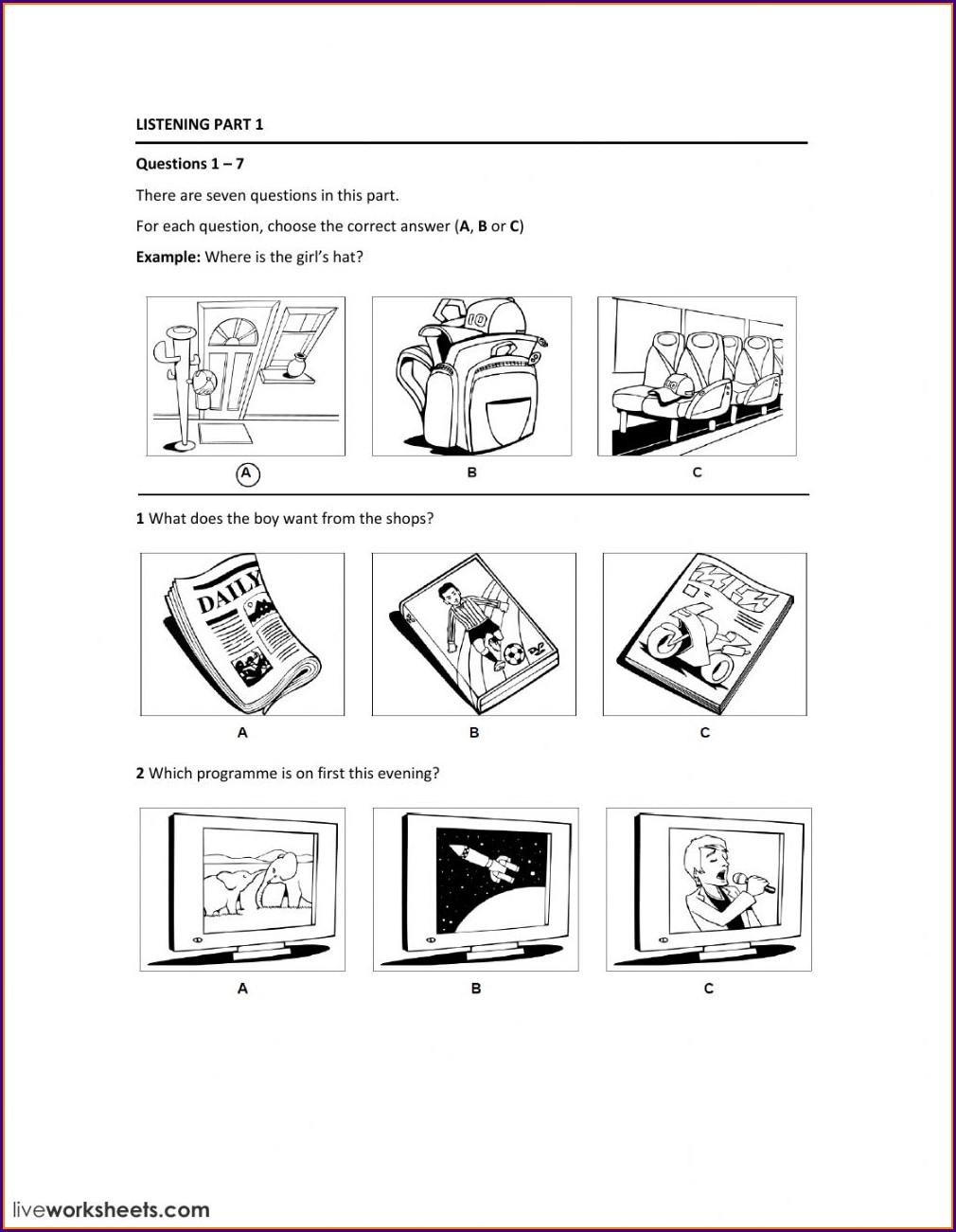 Reading Large Numbers Worksheet