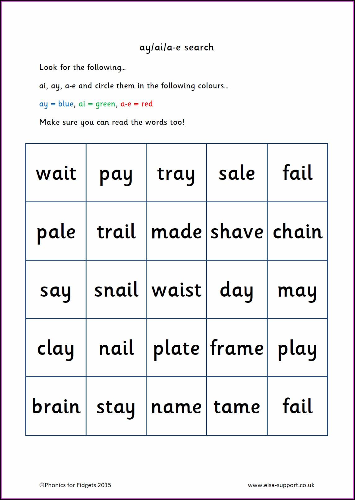 Rhyming Words Worksheet Reception Worksheets Free Printable Uk