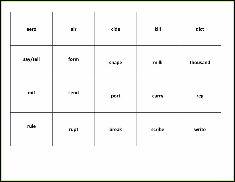 Root Word Worksheet Ks2