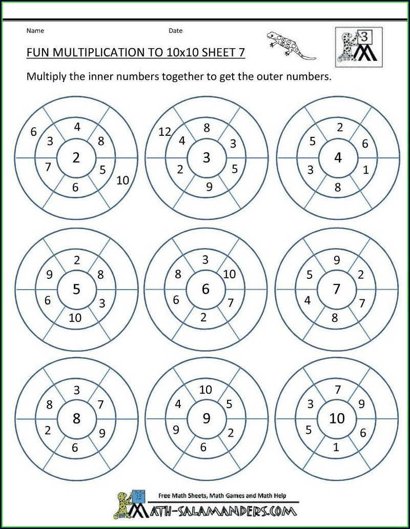 Rounding Numbers Worksheets 5th Grade