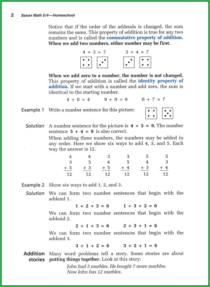 Saxon Math 3rd Grade Worksheets Pdf