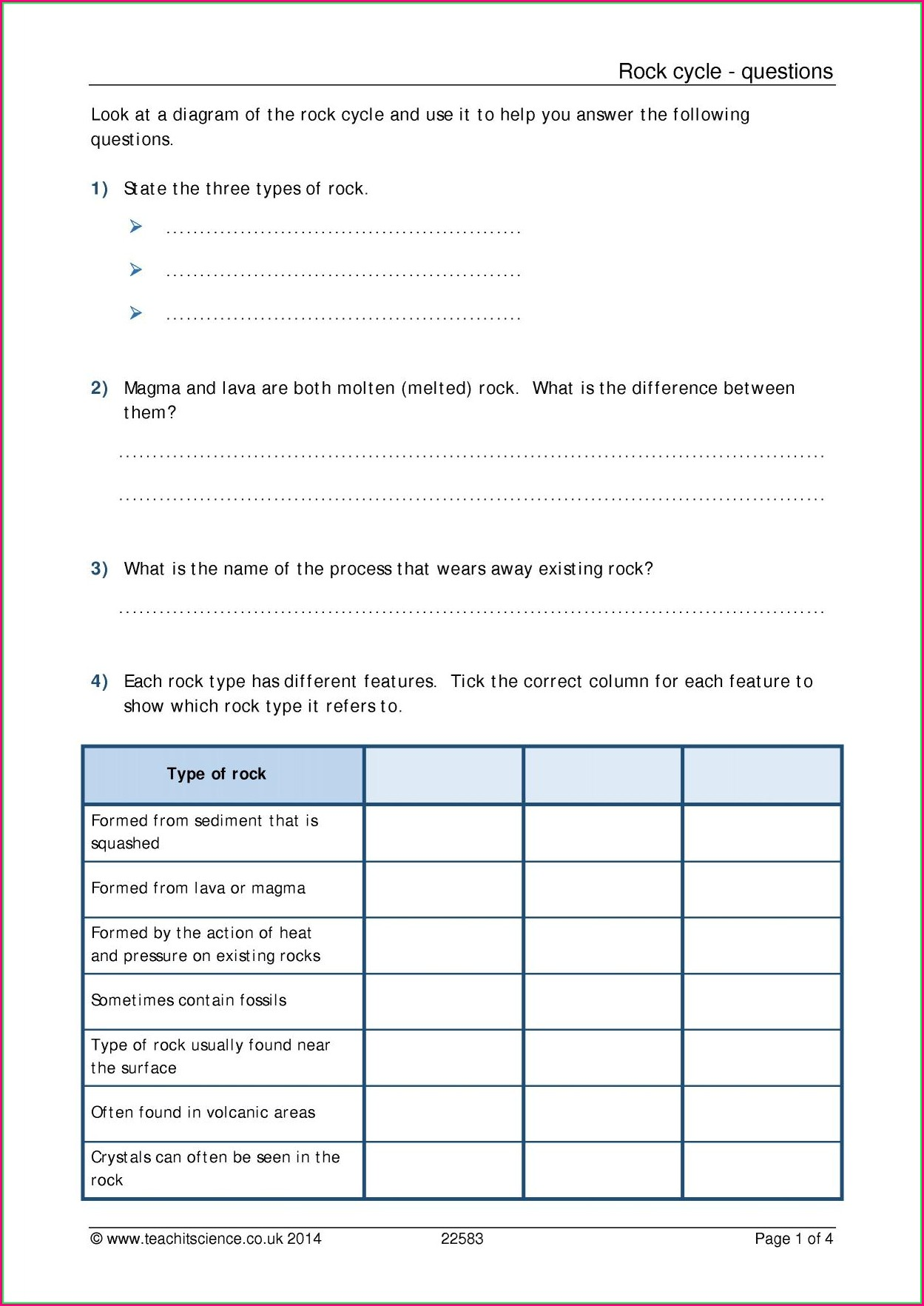 School Of Rock Worksheet Pdf