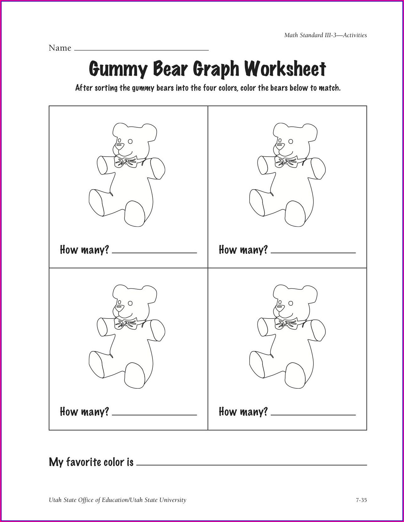 Science Experiment Worksheet For Kindergarten