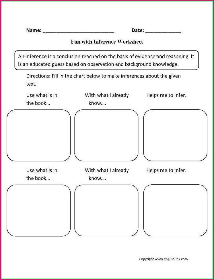 Science Observation Worksheet Middle School