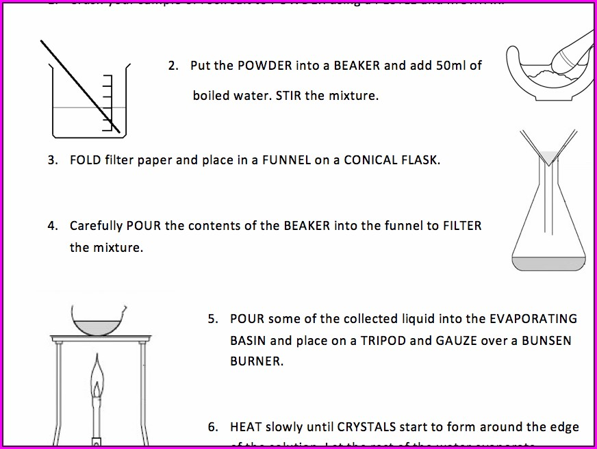 Science Revision Worksheet Ks3