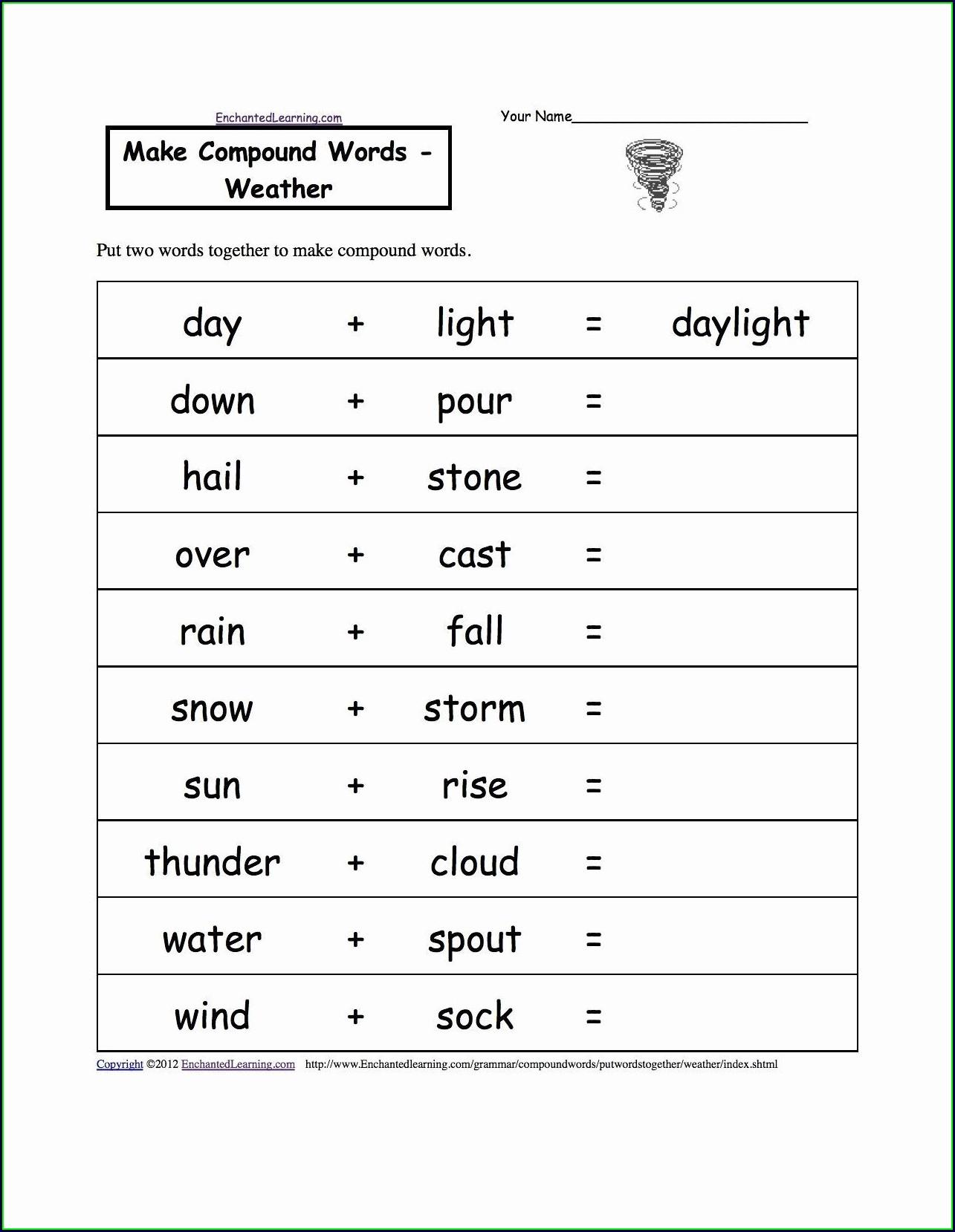 Science Tools Worksheet Second Grade