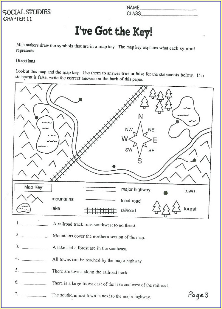 Second Grade 2nd Grade History Worksheets