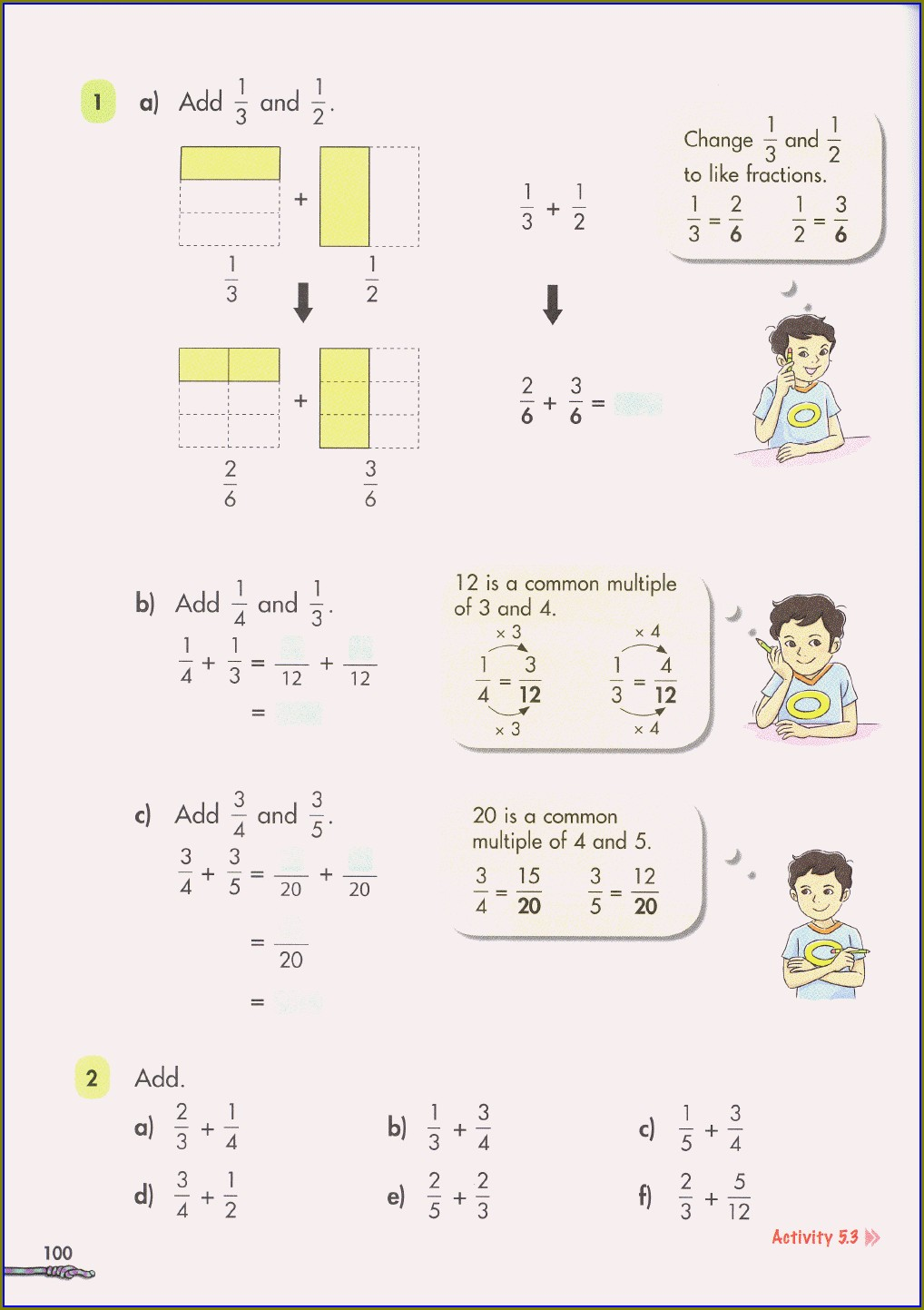 Singapore Math Word Problems Worksheets