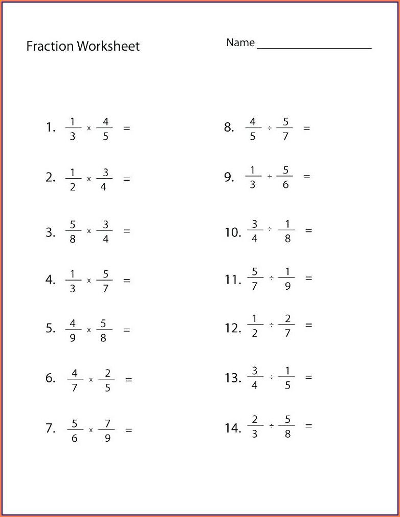 Sixth Grade Grade Six Math Worksheets