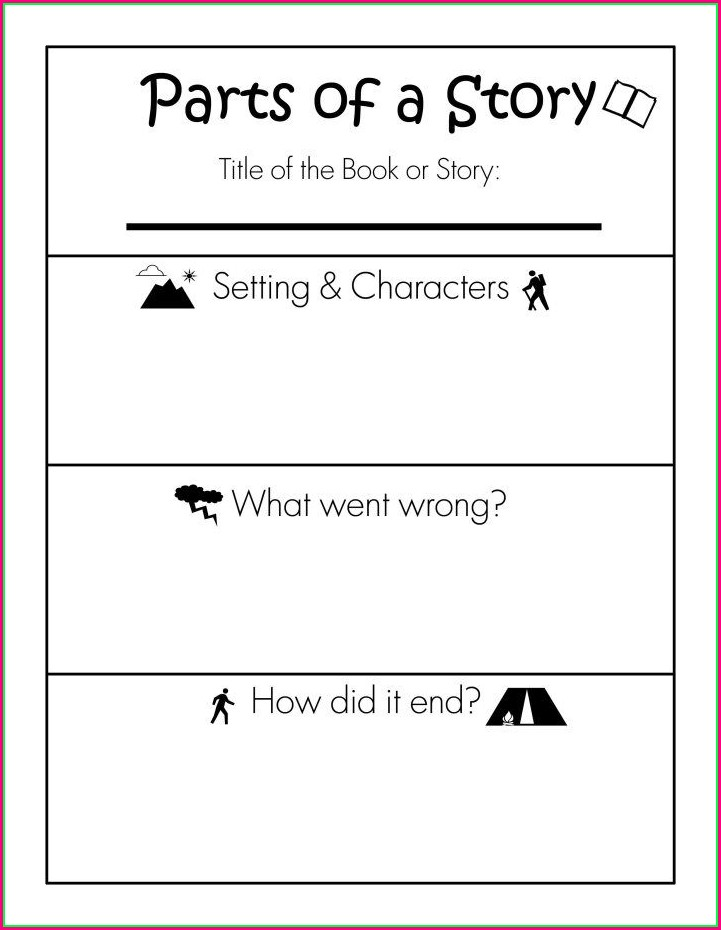 Story Writing Printable Worksheets