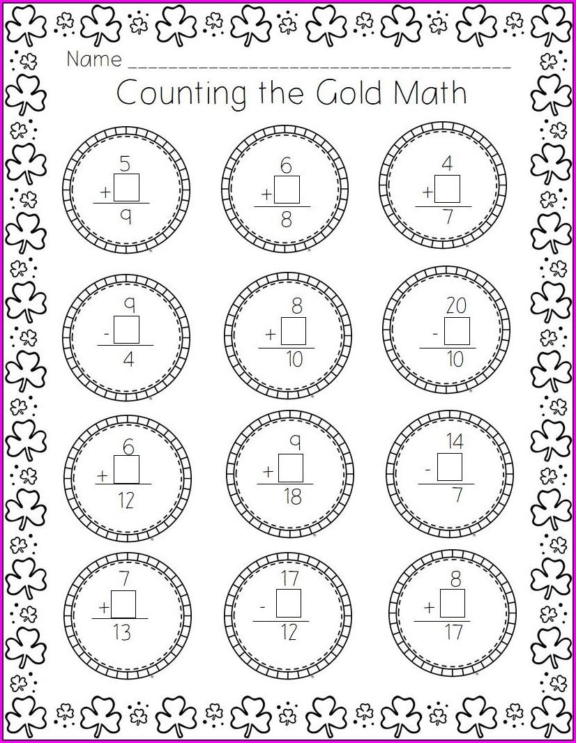 Subtraction Using Number Line Worksheet