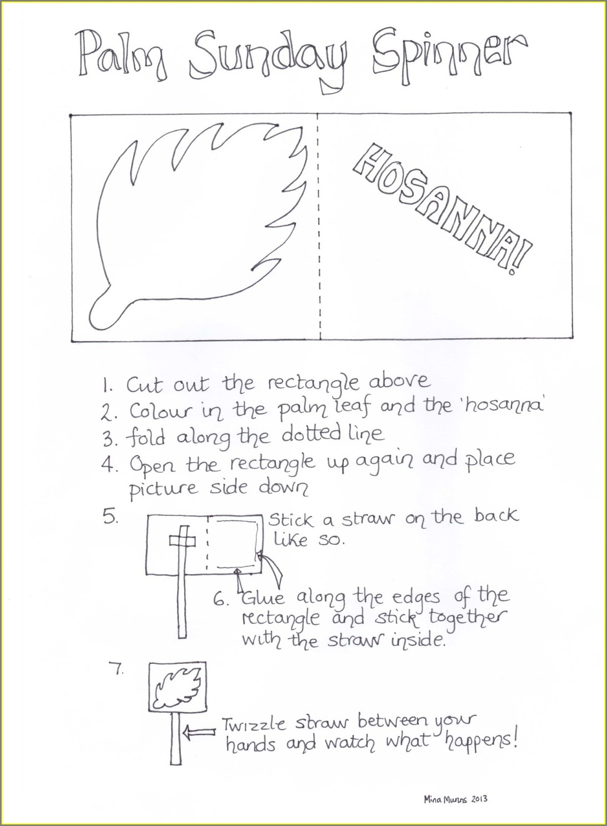 Sunday School Worksheets For Youth