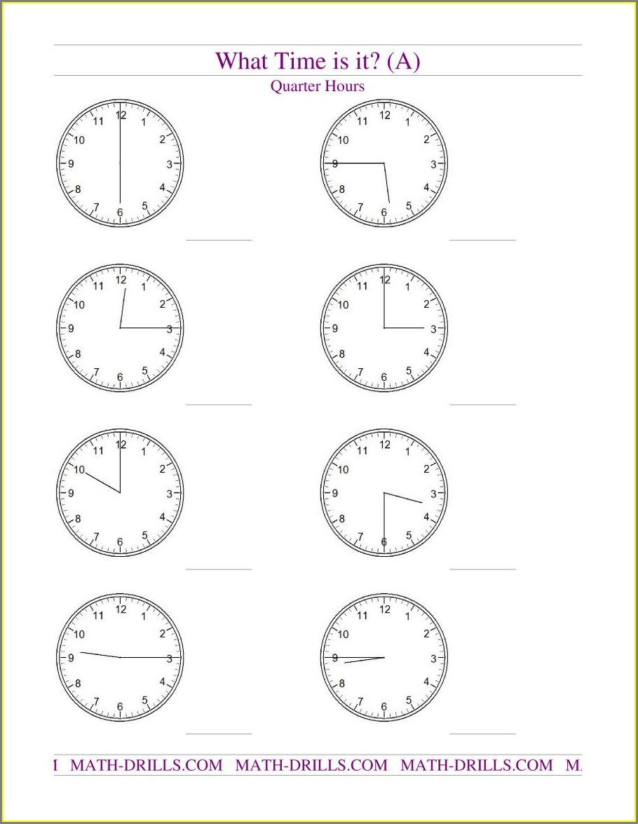Superkids Time Worksheet Reading An Analog Clock