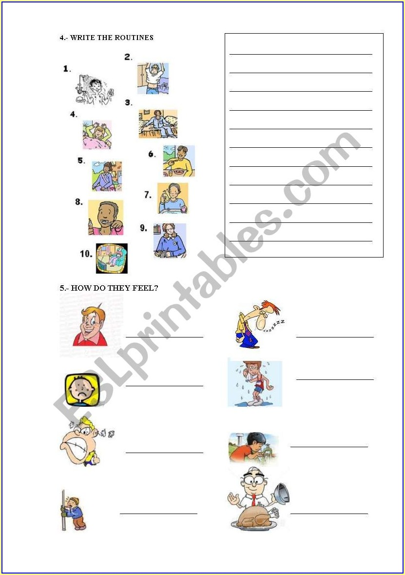 Telling Time Quiz Worksheet