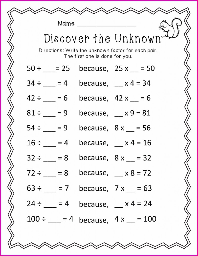 Third Grade 3rd Grade Math Worksheets Addition And Subtraction