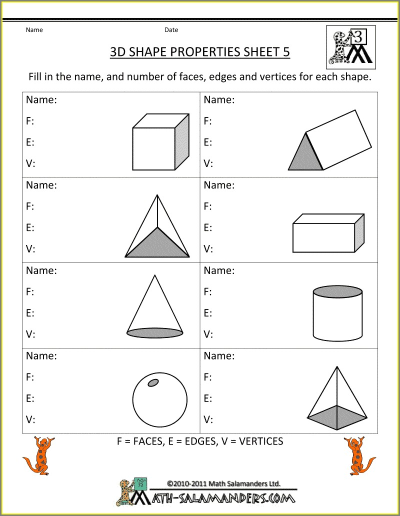Third Grade 3rd Grade Worksheets Free Printable
