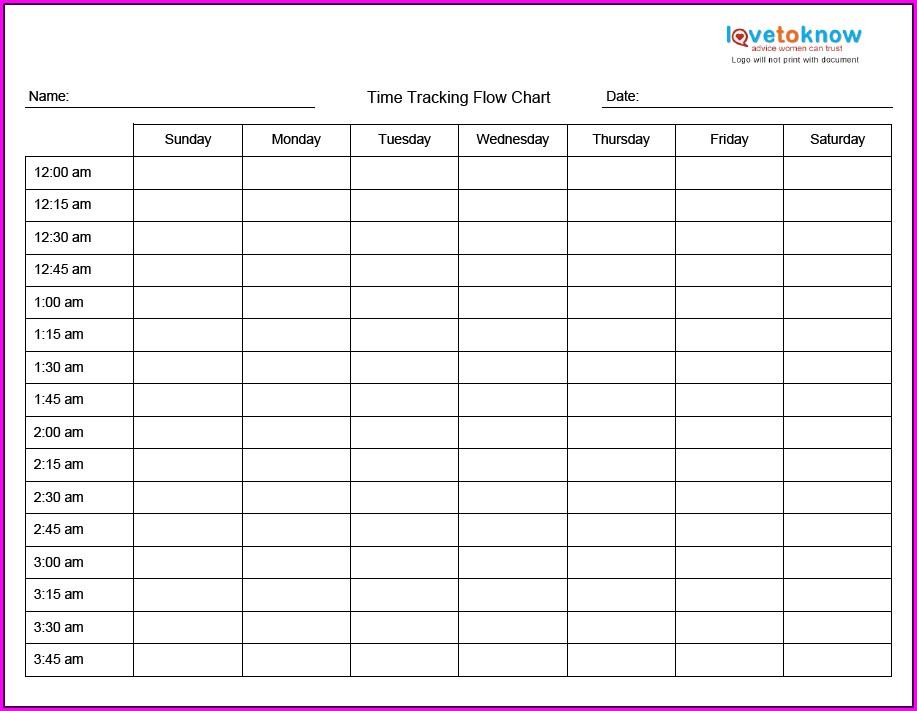 Time Management Worksheet For College Students Pdf