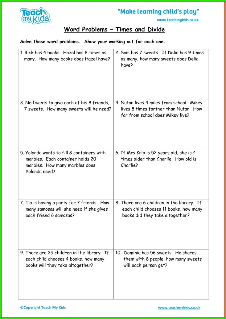 Time Word Problem Worksheet Pdf