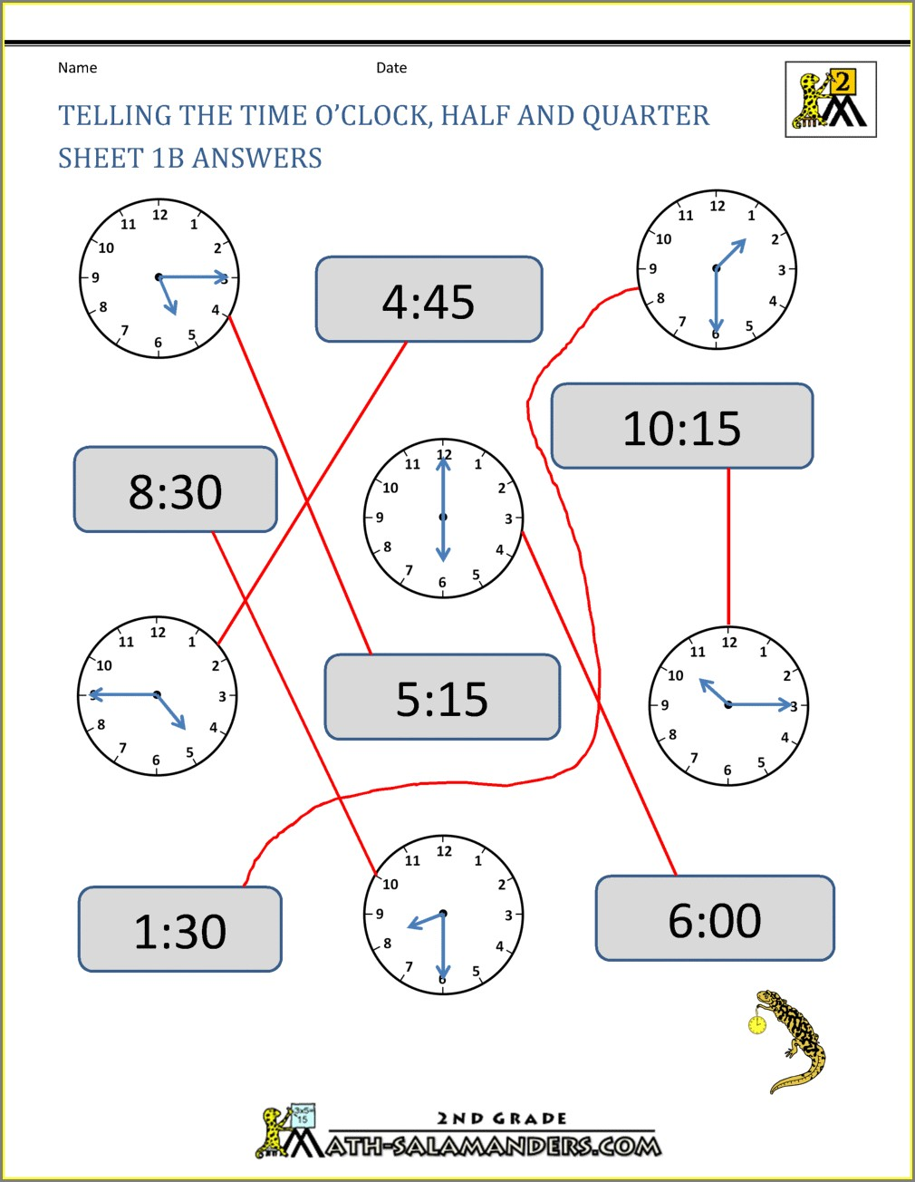 Time Worksheet For Grade 5 Pdf