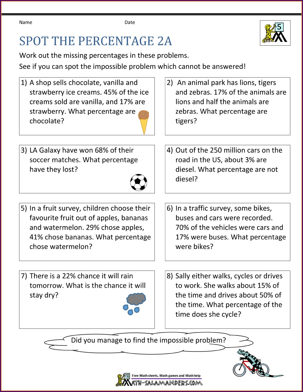 Two Step Math Word Problems Worksheets
