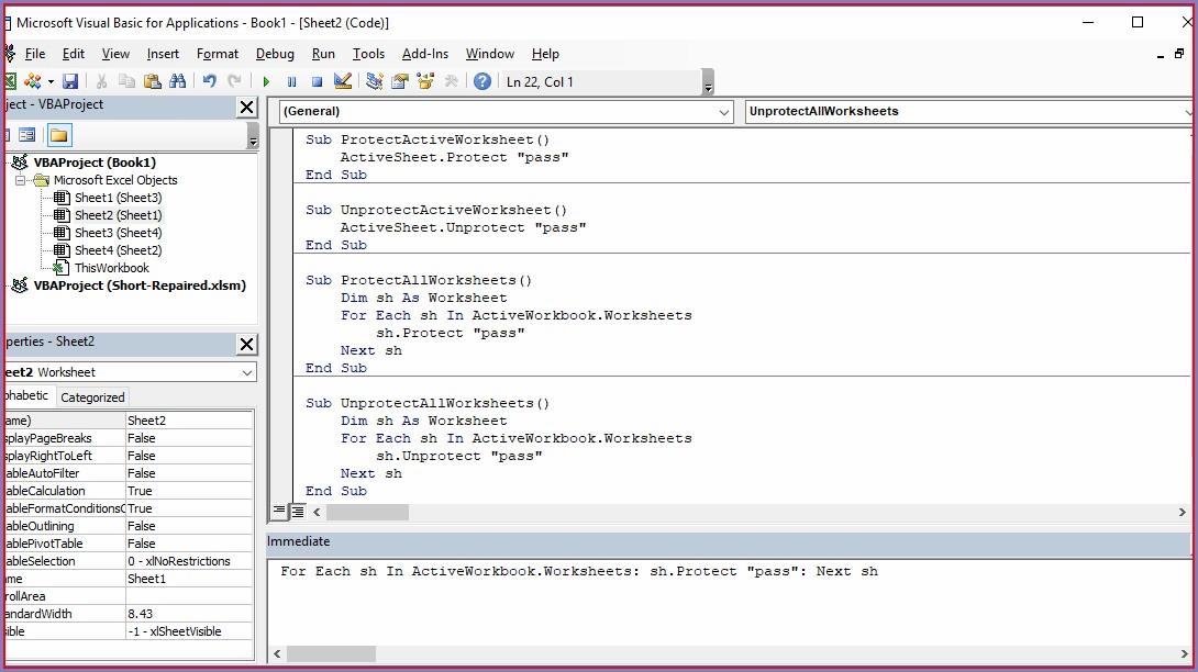 Vba Worksheet As Function Parameter