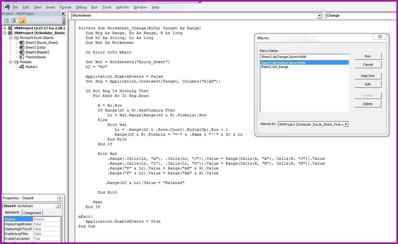Vba Worksheet Copy Set