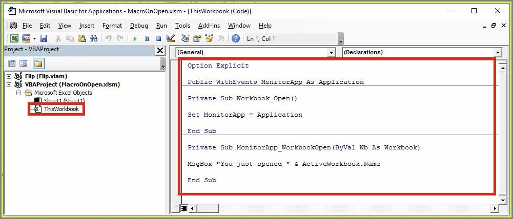 Vba Worksheet Open Function