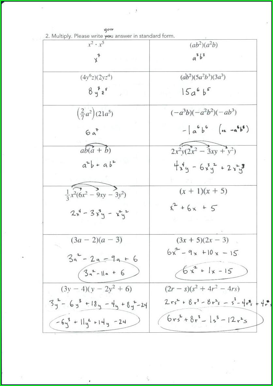 What Is Algebra Worksheet