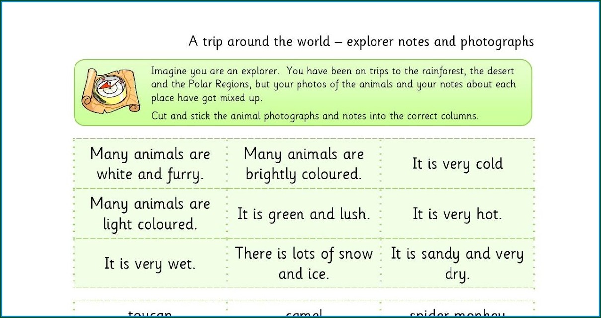 Which Arctic Animals Love Math Worksheet Answers