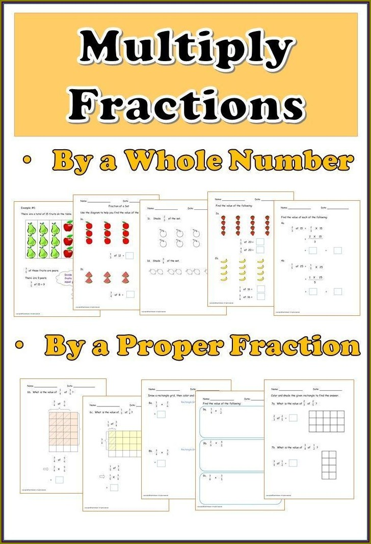 Whole Number Worksheets 4th Grade